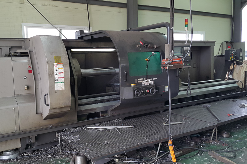 Hwacheon Mega 100 x 4000 CNC