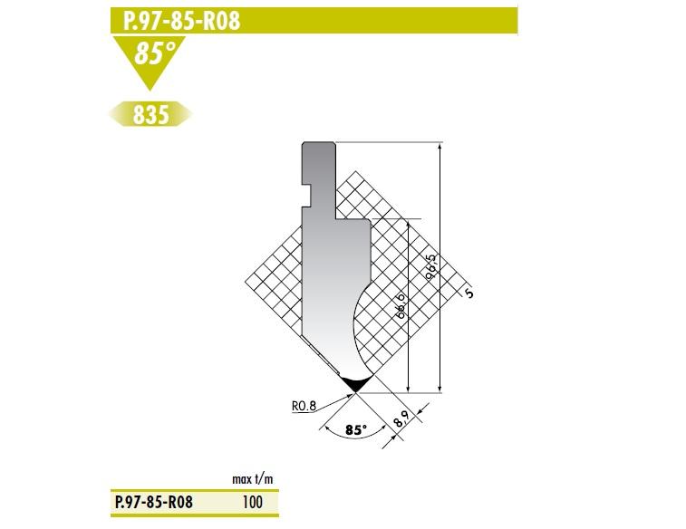 ROLLERI RT P.97.85.R08 C